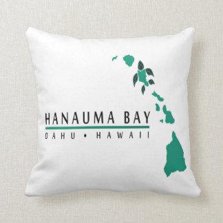 Coussin d'Hawaï de baie de Hanauma