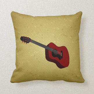 Coussin d'illustration de guitare