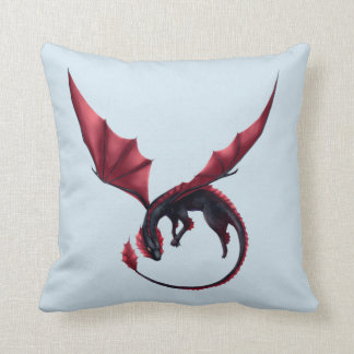 Coussin d'Ouroboros de dragon d'Alavon