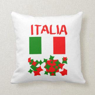 Coussin Drapeau de l'Italie