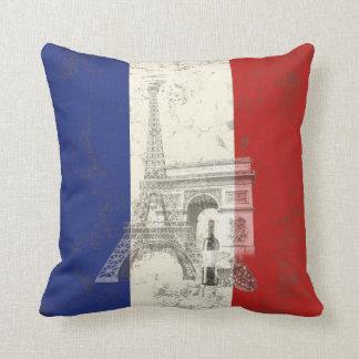 Coussin Drapeau et symboles de la France ID156