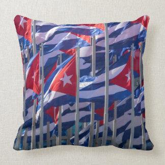 Coussin Drapeaux cubains, La Havane, Cuba
