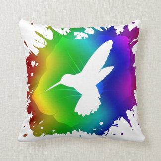 Coussin Éclaboussure de colibri