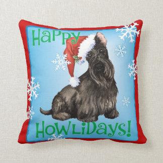 Coussin Écossais heureux Terrier de Howlidays