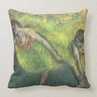 Coussin Edgar Degas | détente de deux danseurs