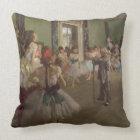 Coussin Edgar Degas | la classe de danse, c.1873-76