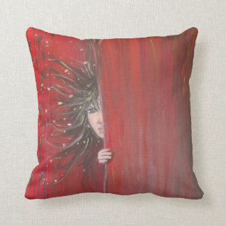 Coussin Elfe rouge