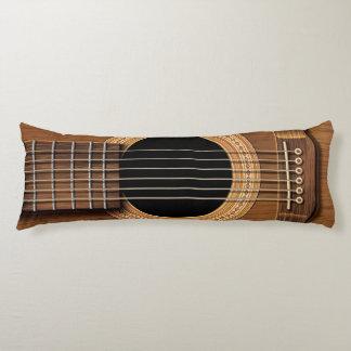 Coussin en bois naturel de corps de guitare