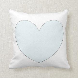 Coussin en forme de coeur mignon de conception