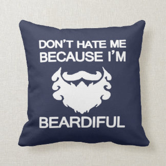 Coussin Êtes-vous beardiful ! ?