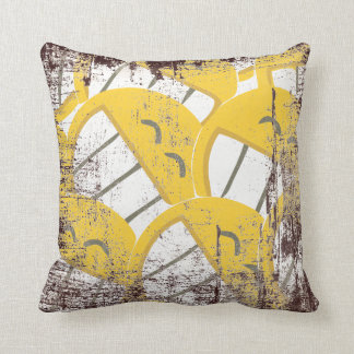 Coussin Famille jaune