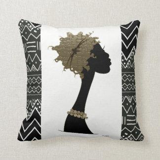 Coussin Femme africaine