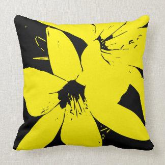 Coussin Fleurs jaunes de Lilly