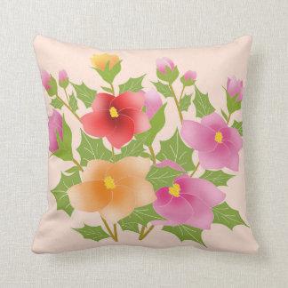 Coussin fleurs jolies