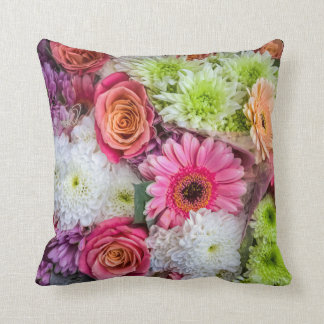 Coussin floral