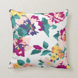 Coussin floral