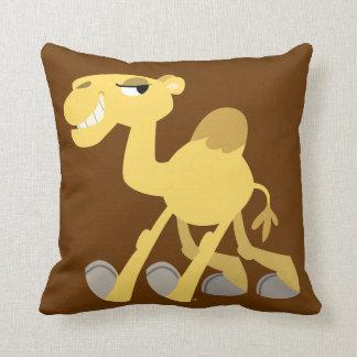 Coussin frais et mignon de chameau de bande dessin