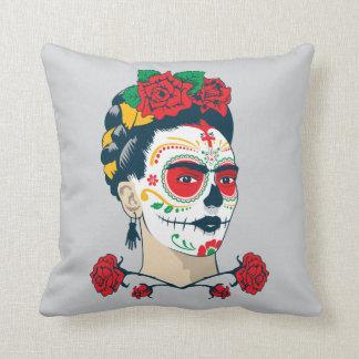 Coussin Frida Kahlo | El Día de los Muertos