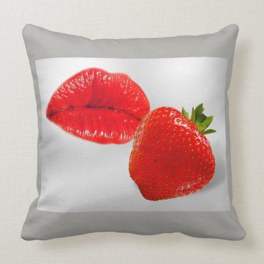 Coussin Fruit Kiss Fraise