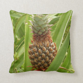 Coussin Fruit tropical d'ananas sauvage en nature