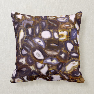 Coussin Geodes abstrait