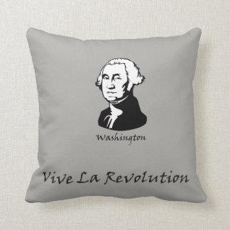Coussin George Washington - révolution de La de Vive