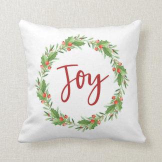 Coussin Guirlande-joie de Noël