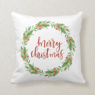 Coussin guirlande-joyeux Noël de Noël
