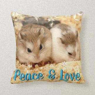 Coussin Hammyville - amis de hamster