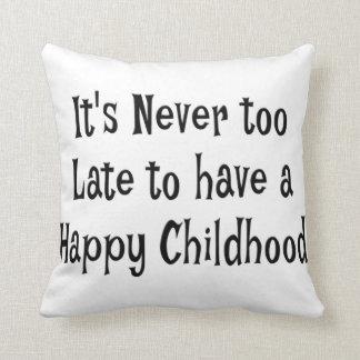 Coussin heureux d'enfance