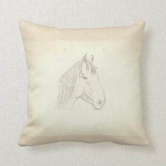 Coussin horse head