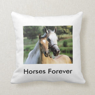 Coussin Horses Forever