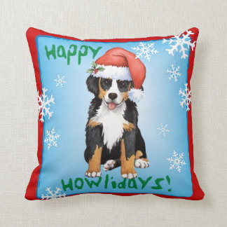 Coussin Howliday heureux Berner