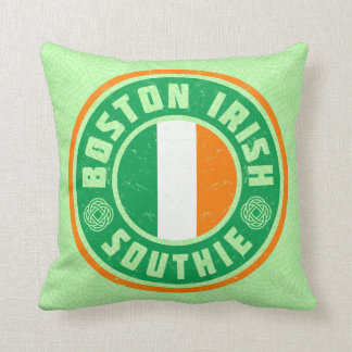 Coussin irlandais de Southie d'Américain de Boston