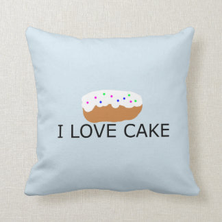 Coussin J'aime le carreau de gâteau