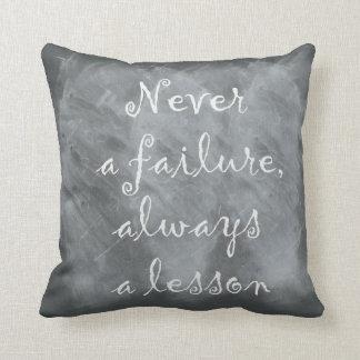 Coussin Jamais un échec