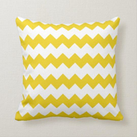 coussin jaune citron superbe de chevron de bloc. Black Bedroom Furniture Sets. Home Design Ideas