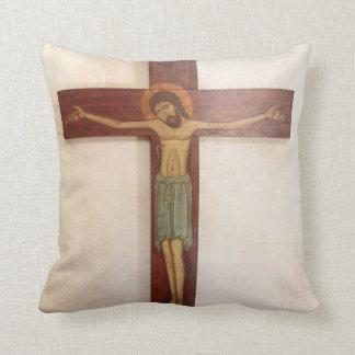 Coussin Jésus sur l'art croisé