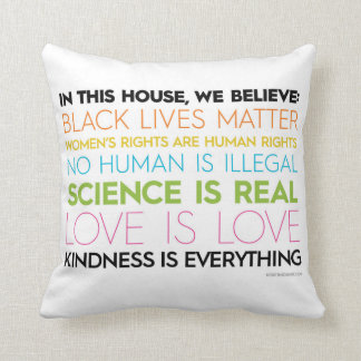 Coussin Jet #KindnessIsEverything Pilllow