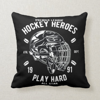 Coussin Jeu All Star dur de héros d'hockey de ligue