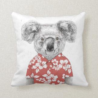 Coussin Koala d'été (rouge)