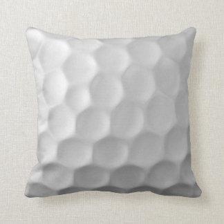 Coussin La boule de golf embrève le motif de texture