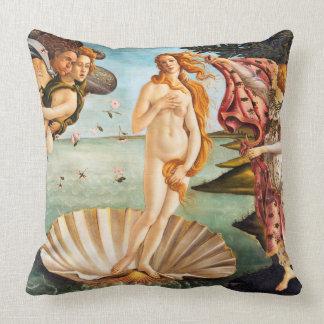 Coussin La naissance de Botticelli de Vénus a reconstitué
