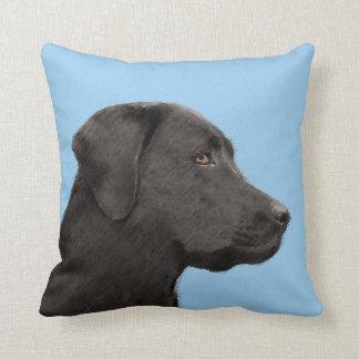 Coussin Labrador retriever (noir)