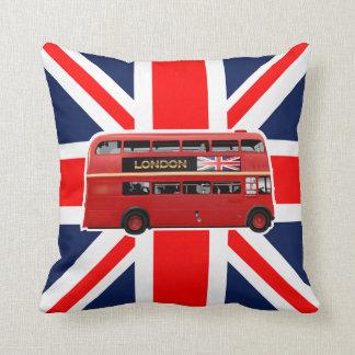 Coussin L'autobus de rouge de Londres