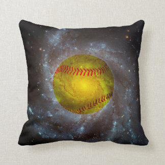 Coussin Le base-ball dans le carreau unique du base-ball