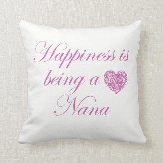 Coussin Le bonheur est Nana !