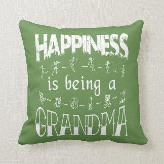 Coussin Le bonheur est une GRAND-MAMAN
