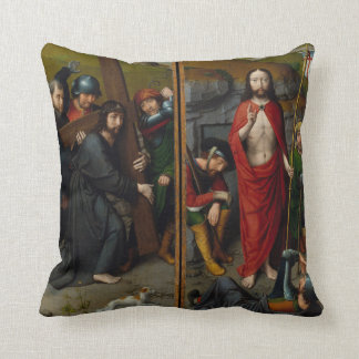 Coussin Le Christ portant la croix