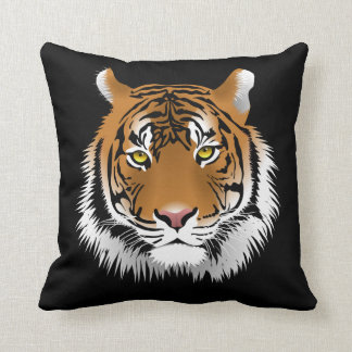 "Coussin Le cousin tigre et ""Be my tiger"""